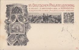 Bayern Privat-GS Minr.PP15 18.dt. Philatag Nürnberg 2.9.06 SST - Bayern