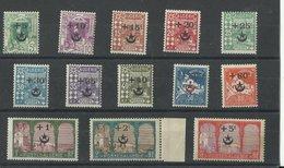 Algérie : Série 58/ 70 Neufs ** MNH, Cote YT 119€ 60 Pour Les Soldats Blessés Au Maroc - Algérie (1924-1962)