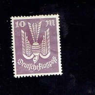 Allemagne - P.A. (Y&T) 1922-23. N°16  *  *  10m.  Obli° - Poste Aérienne