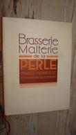 Livret Publicitaire Pour La Biere De La PERLE - Werbung