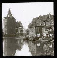 Enkhuizen, Holland NETHERLANDS - Magic Lantern Slide (lanterne Magique) - Glasdias