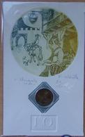 """Médaille Touristique Patrimoine MIREPOIX - 2010  ENCART Numérotés """"10 ème Anniversaire Loisirs Et Collections - Monnaie De Paris"""