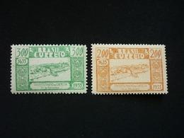 Brazil, 1936 300th Anniversary Of The Founding Of The City Of Camela Scott #419-420 MNH Cv. 3,50$ - Brésil