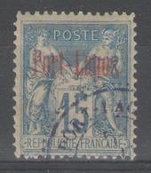 PORT-LAGOS:  N°3a Oblitéré (surcharge Rouge)         - Cote 110€ - - Usados