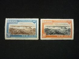 Brazil, 1937 2nd South American Radio Communication Conference Scott #443-444 Cv. 3,50$ - Brésil