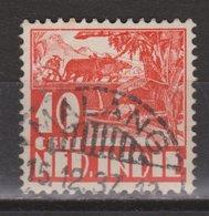 Nederlands Indie Dutch Indies 194 TOP CANCEL MALANG ; Karbouw 1934 No Watermark Netherlands Indies PER PIECE - Nederlands-Indië