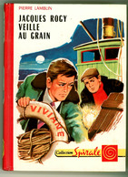 """G.P. Spirale N°396 - Pierre Lamblin - """"Jacques Rogy Veille Au Grain"""" - 1970 - Collection Spirale"""