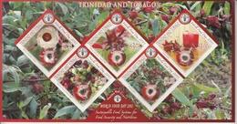 2013 Trinidad World Food Day FAO Seeds  Miniature Sheet MNH - Trinidad & Tobago (1962-...)