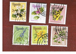 UGANDA   - SG 131.139   -  1969  FLOWERS      - USED ° - Uganda (1962-...)