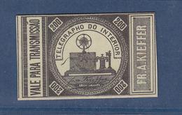 BRASIL TELEGRAPHE 1a PERFECT - Telegraph