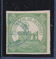 BRASIL TELEGRAPHE 1 USED PERFECT - Telegraph