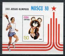 Cuba 1980. Yvert Block 60 ** MNH. - Blokken & Velletjes