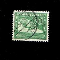 Allemagne - P.A. (Y&T) 1938. N°58  * Centenaire De La Naissance Du Comte Von Zeppelin*     25m.  Obli° - Poste Aérienne