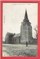 ACHIET LE GRAND 1909 L EGLISE CARTE EN TRES BON ETAT - Arques