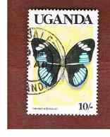 UGANDA   - SG 746   -  1989  BUTTERFLIES: LARGE TIGER BLUE (UGANDA  BLACK)     - USED ° - Uganda (1962-...)