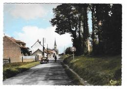 GLISY (80) Cpsm Entrée Du Village - Francia