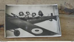 Carte Photo Montage, Avion,NUNGESSER & COLI …... … MT-3120a - Fotografie