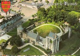 50 - SAINT SAUVEUR LE VICOMTE - VUE AÉRIENNE DU CHATEAU - Saint Sauveur Le Vicomte