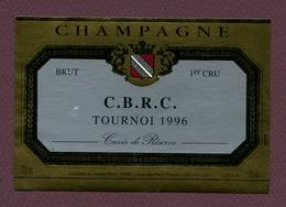 "CHAMPAGNE "" C.B.R.C.  TOURNOI 1996 ""  à VILLERS-MARMORY - Champagne"