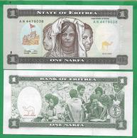 ERITREA - 1 NAKFA – 1997 - UNC - Eritrea