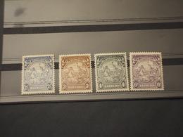 BARBADOS - 1938/41 CAVALLI E RE 4 VALORI   - NUOVO(++) - Barbados (1966-...)
