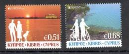 1.- CYPRUS CHYPRE 2012 EUROPA 2012 VISITS EUROPA - Europa-CEPT