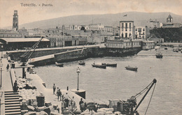 Carte Postale Ancienne D'Espagne - Iles Canaries - Tenerife - Puerto - Tenerife