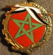 Insigne Militaire 30 ,  Base Aérienne Maroc Algérie 1954 Insigne AFN Aviation - Armée De L'air