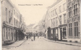 Thienen - Tienen - De Nieuwstraat - Geanimeerd - Uitg.  S. D. Brussel - Tienen