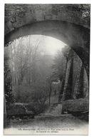 Cpa 49 Beaupréau - Vue Prise Sous Le Pont De L'entrée Du Château - France