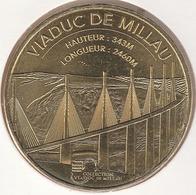 MONNAIE DE PARIS 12 MILLAU Viaduc De Millau - Collection Viaduc De Millau 2018 - 2018