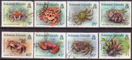 SOLOMON ISLANDS 1993 SG #752//63 Part Set (8 Stamps Of 15) Used Crabs - Solomon Islands (1978-...)