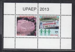 2013 Surinam UPAEP Anti-Discrimination Complete Set Of 2 Sheets  MNH - Surinam