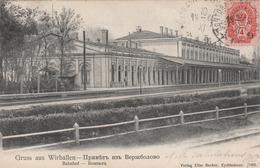 Carte Postale Ancienne De Lituanie - Gruss Aus Wirballen - Bahnof - Lituanie