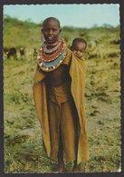 KENYA - Femme Masai Avec Bébé - Voyagée 1969 - Ed. Elite - Kenya