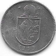 *notgeld Immenstadt 10 Pfennig  1919  Zn Kriegsnotgeld   6658.2a /  F227.2a - [ 2] 1871-1918 : Empire Allemand