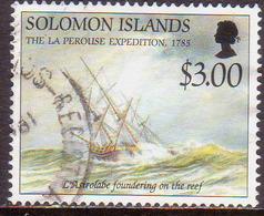 SOLOMON ISLANDS 1994 SG #821 $3 Used La Perouse Expedition - Solomon Islands (1978-...)