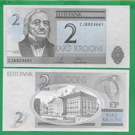 ESTONIA - 2 KROONI – 2007 - UNC - Estonia