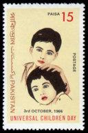 Pakistan, 1966, World Children's Day, United Nations, MNH, Michel 227 - Pakistan