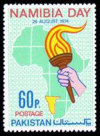 Pakistan, 1974, Namibia Day, United Nations, MNH, Michel 372 - Pakistan