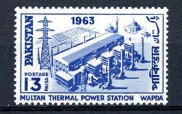 Pakistan, 1963, Thermal Energy Works, MNH, Michel 201 - Pakistan