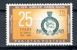 Pakistan, 1966, Habib Bank 25th Anniversary, Banking, MNH, Michel 226 - Pakistan