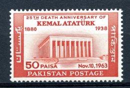 Pakistan, 1963, Death Of Ataturk, MNH, Michel 199 - Pakistan