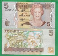 FIJI - 5 DOLLARS - 2007 -  UNC - Fiji