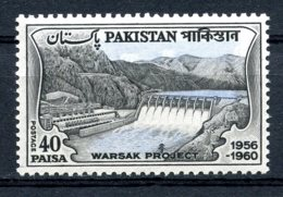 Pakistan, 1961, Warsek Dam, Waterworks, MNH, Michel 153 - Pakistan