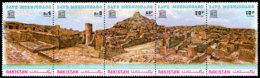 Pakistan, 1976, Save Mohenjodaro, UNESCO, United Nations, MNH Strip, Michel 398-402 - Pakistan