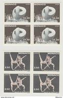 Monaco : 1993 - 2 Superbes Blocs De 4 Timbres EUROPA - N° 1875 Et 1876  - Neufs ** - - Monaco