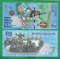 FIJI - 7 DOLLARS - 2017 -  UNC - Fidji