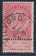 58  -  VILVORDE - 1893-1900 Fine Barbe