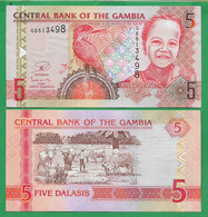 GAMBIA - 5 DALASIS – 2013 - UNC - Gambie